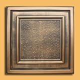 30pc of Zeta Bronze/Black (24''x24'' PVC 20 mil) Ceiling Tiles - Covers about 120sqft