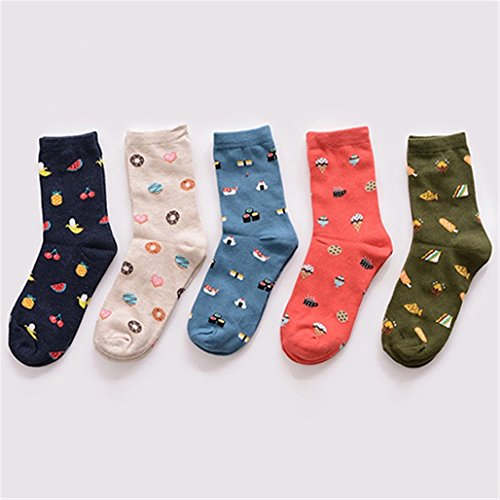 Butterfly Iron Creative Cartoon Cotton Socks Unisex Men Women Socks for All Seasons