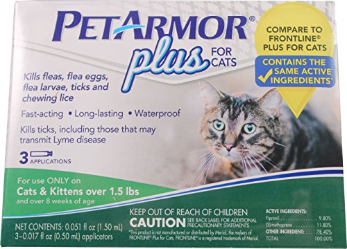 PetArmor Count Plus Cats Squeeze