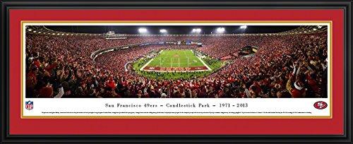 9bfc39945 San Francisco 49ers - Final Game at Candlestick Park - Panoramic Print