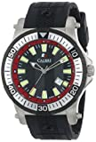 Calibre Men's SC-4H1-04-007.4 ''Hawk'' Stainless Steel and Black Rubber Watch