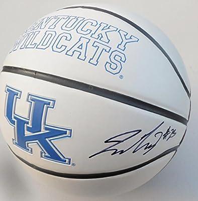 Jamal Murray Signed Kentucky Wildcats Logo Basketball w COA SD08615 - JSA Certified - Autographed College Basketballs