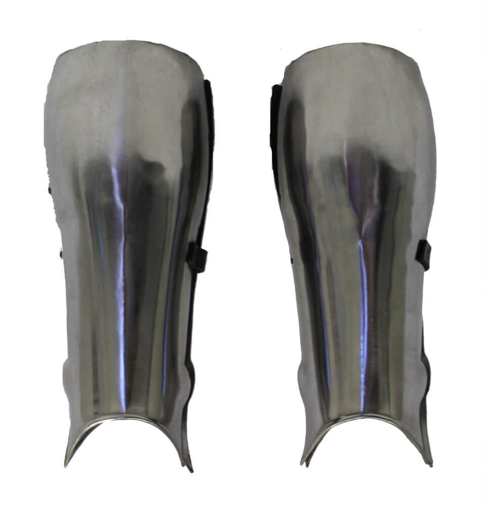 RedSkyTrader Mens Steel Short Leg Medieval Armor One Size Fits Most Metallic by RedSkyTrader (Image #1)