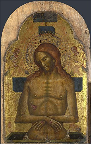 High Quality Polyster Canvas ,the Reproductions Art Decorative Canvas Prints Of Oil Painting 'Italian Venetian The Dead Christ ', 16 X 25 Inch / 41 X 64 Cm Is Best For Powder Room Decoration And Home Artwork And Gifts