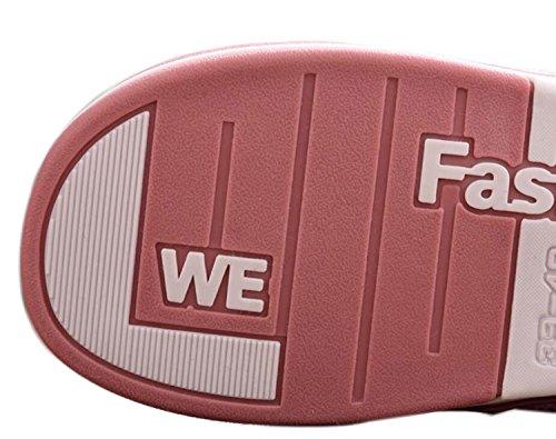 de casa Mujer caseros DANDANJIE Rosado Dibujos e Zapatillas Antideslizante Invierno Otoño de de Zapatos Zapatillas Zapatillas de Gruesa de Animados algodón Lindas Plataforma 77EIq