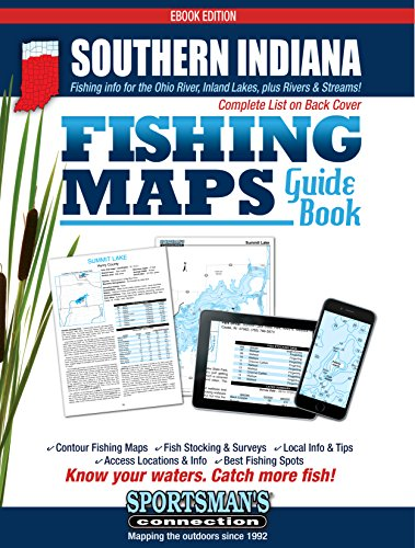 Amazon.com: Southern Indiana Fishing Map Guide eBook: Sportsman\'s ...