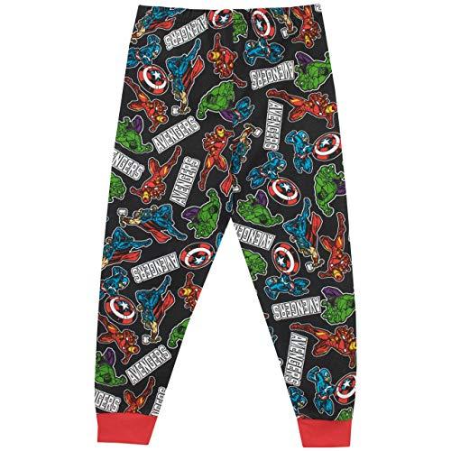Marvel Pijamas de Manga Larga para niños Avengers: Amazon.es: Ropa y accesorios