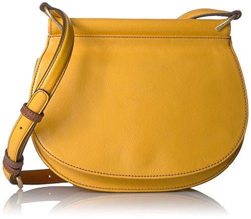 Vera Bradley Sidesaddle Cross-Body Bag,Maize,One Size