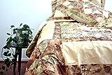 Where to Buy Comforter Sets DaDa Bedding BM6118L-1 New Beige Runway 3-Piece Quilt Set, Twin, Patchwork, Green