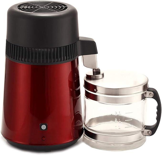 ECO-WORTHY - Destilador de agua para el hogar, acero inoxidable, 4 ...