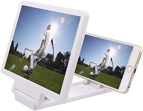 FZYQY Lupa de Pantalla de Teléfono Móvil,Lupa para Smartphone 3D ...