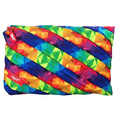 ZIPIT Fresh Twister Jumbo Pencil Case, Kaleidoscope