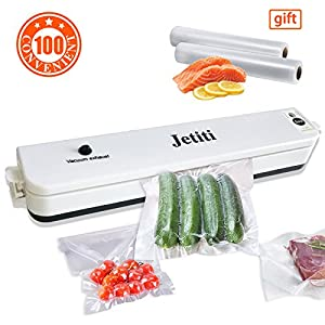 JETITI Vacuum Sealing System, Vacuum Sealer Machine for Food Storage