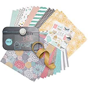 We R Memory Keepers 1-2-3 Punchboard Starter Kit - 26 Pieces