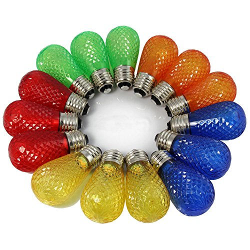 Colored Led Christmas Light Bulbs