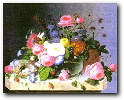 16x20 Bunch of Roses Still Life Flower Floral Wall Decor Art Print Poster