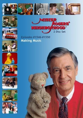 Mister Rogers' Neighborhood: Making Music (#1546-1550) Music as a Way to Express Feelings (2 (Neighborhood Dvd)