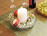 Achla Designs 8 3/4-in Glass Plate, Plant Tray