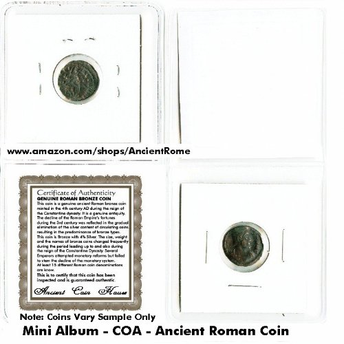 1 (ONE) premium already cleaned ancient Roman coin…