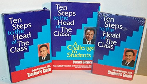 Ten Steps to the Head of The Class Paperback, Student's Guide CASSETTE TAPE & Teacher's Guide CASSETTE TAPE