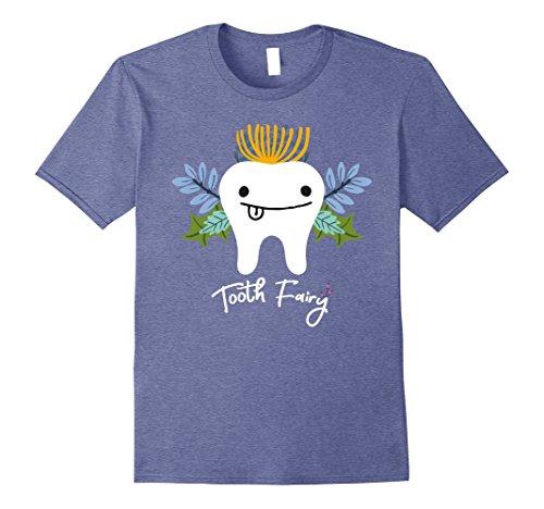 Mens Tooth Fairy Halloween Costume T-shirt 3XL Heather