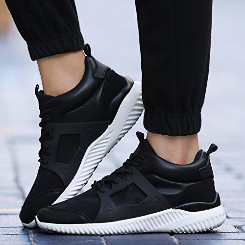 L'amorti des chaussures de course pour hommes Pour Hommes Chaussures Homme Hard-Wearing Rubbe respirants chaussures de sport chaussures noires adultes hommes Brown fXnJay
