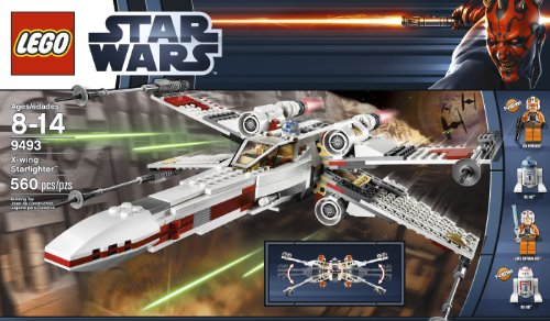 Amazon Lego Star Wars X Wing Starfighter 9493 Discontinued By