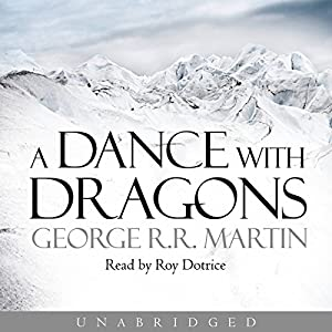 A Dance with Dragons Audiobook | George R. R. Martin ... A Dance With Dragons Audiobook Cover