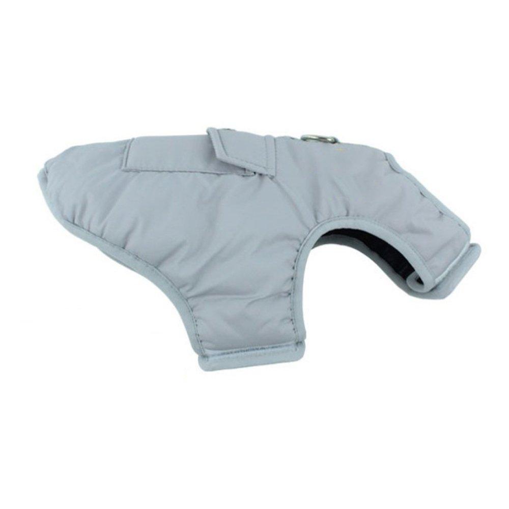 B 3XLDog Raincoat Warm Winter Coat Waterproof Large Dog Vest Jacket Doublesided Plaid Clothing Pet Supplies,B3XL