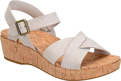 Kork Ease Suede Sandals - Kork-Ease - Womens - Myrna 2.0 Light Grey