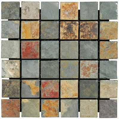 MS International SMOT-CGLD-2X2-T California Gold Ceramic Tile Tumbled in 12