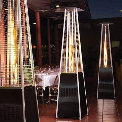 Garden Radiance Grp4000bk Dancing Flames Pyramid Outdoor