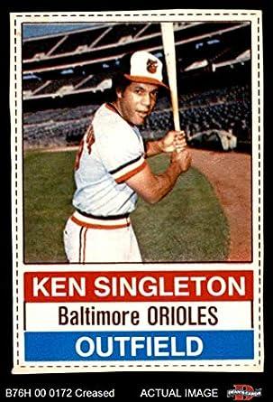 ken singleton baseball cards