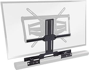 SANUS Soundbar TV Mount Designed for Sonos Arc Sound bar - Height & Depth Adjustable for Dolby Atmos - Universal Compatibility with SANUS & Other TV Mounts - Easy Assembly -OSSATM