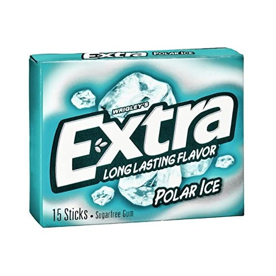 Wrigley's Extra Polar Ice Gum, 60 g