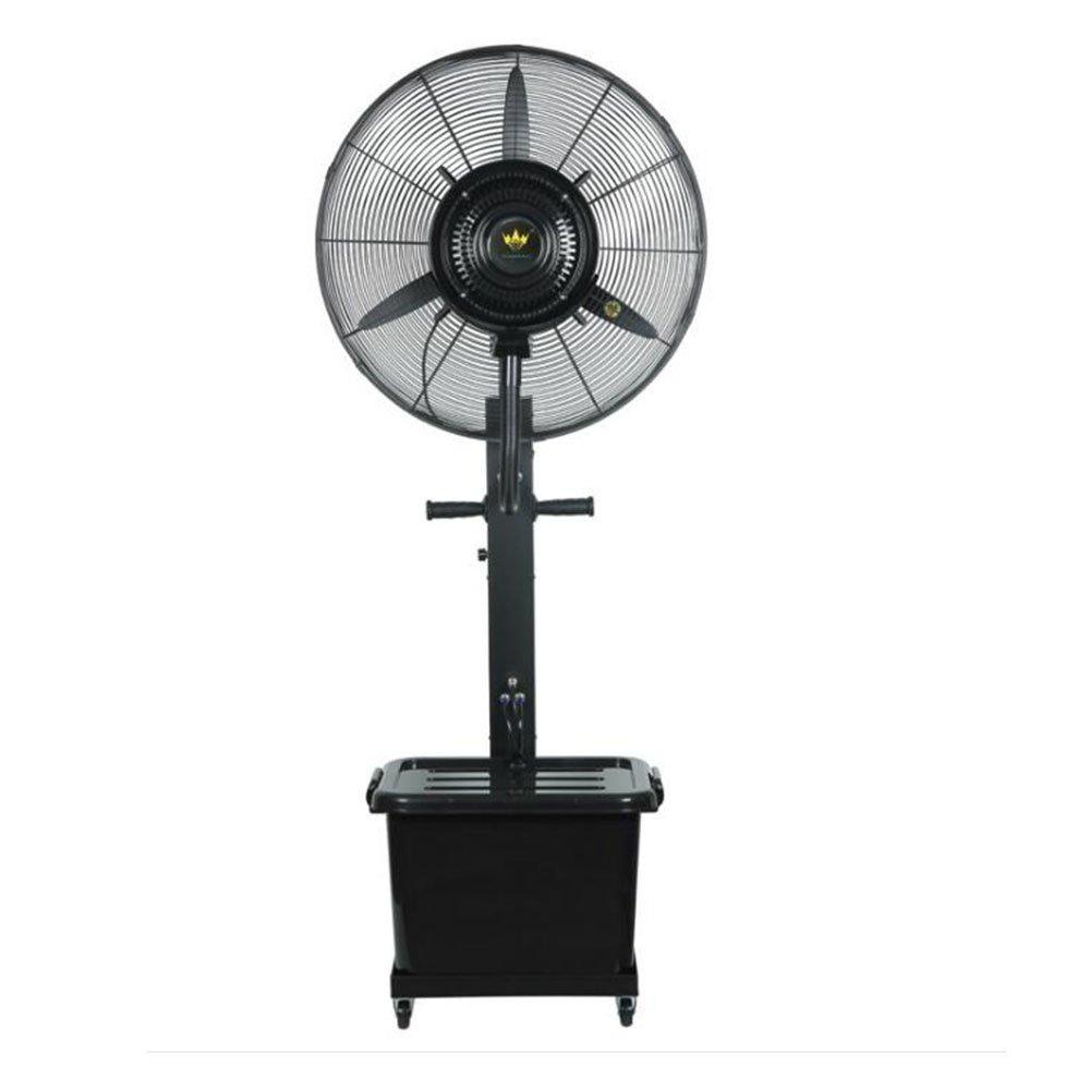 LBYMYB Spray Cooling Fan Floor Shaking Power Supply Fan Atomizing Fan Mini Fan (Size : 75cm)