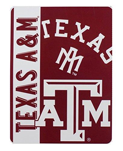 The Northwest Company Texas A&M Aggies NCAA 60x80 Silk Touch Plush Throw Scratch Design