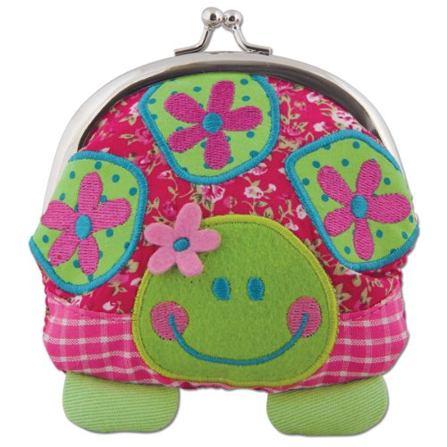Stephen Joseph Signature Kiss Lock Purse, - Purses Turtle