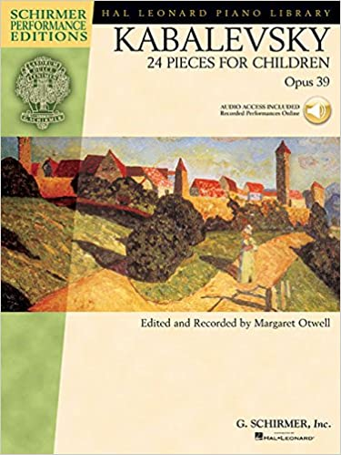 Book Kabalevsky: 24 Pieces for Children, Opus 39 [With CD] (Schirmer Performance Editions)