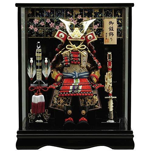 五月人形 鎧 ケース飾り 4号幅39cm[fz-108] B07N2MHHQT