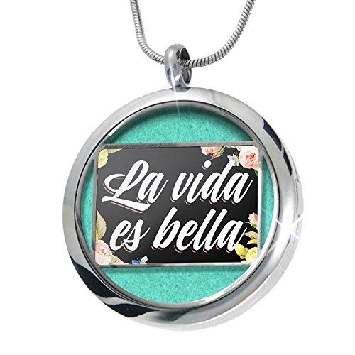 neonblond-floral-border-la-vida-es-bella-aromatherapy-essential-oil-diffuser-necklace-locket-pendant