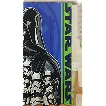 Star Wars Darth Vader Shower Curtain By Disney