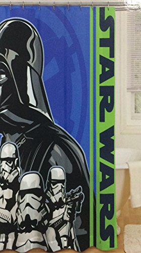 Star Wars Darth Vader & Stormtroopers Shower Curtain Fabric