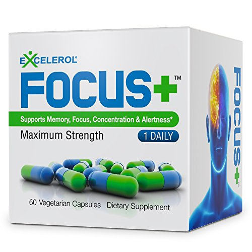 Excelerol Focus Brain Supplement Capsules product image