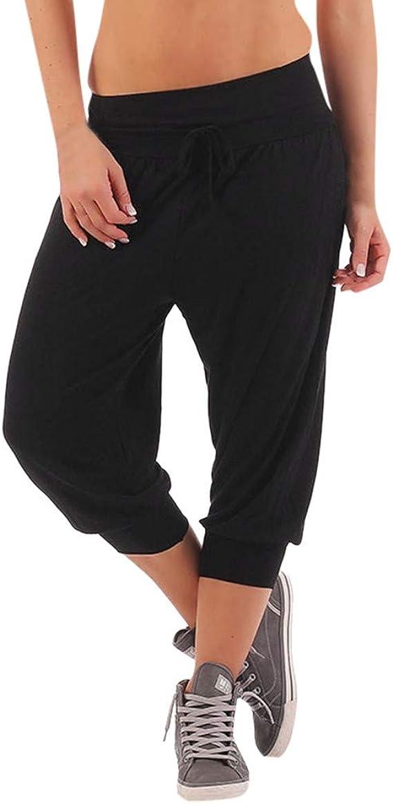 Luckycat Pantalones Aladdin Talla Grande Mujer Tul Pantalones De ...