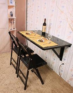 Wandklapptisch holz  Wandklapptisch, Klapptisch, Küchentisch aus Holz, 100cm x 60cm ...