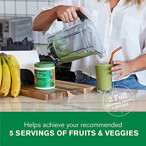 Amazing Grass Green Superfood: Super Greens Powder with Spirulina, Alfalfa, Digestive Enzymes & Probiotics, Original, 100 Servings 4