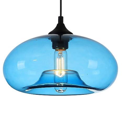 Amazon.com: Ting-w Vintage E27 Lámpara de techo colgante ...