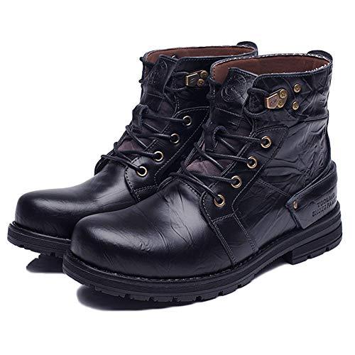 Libero Tempo Alto Scarpe All'aperto Inverno Plus Retro Stivali Ginnastica da Aiuto Sicurezza per E Black Autunno Mens Leggero di Impermeabile Scarpe Il Dewalt YagHqaTF