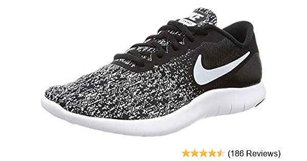 Amazon.com  Nike Womens Flex Contact Ankle-High Running Shoe  Road  Running